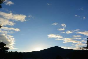 比叡山の陽の出