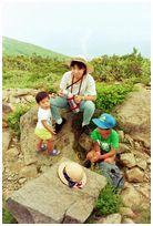 八方尾根 July 1990