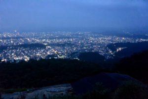 如意ヶ嶽(大文字山) 2016.08.16 04:55